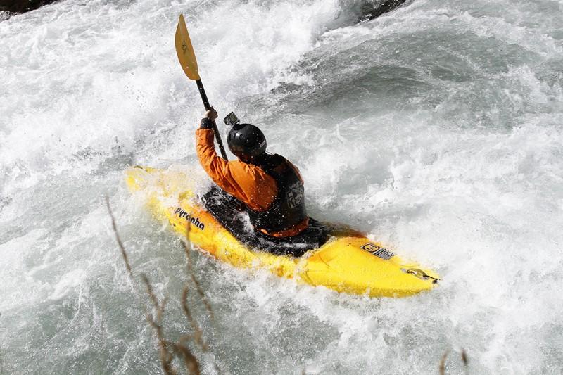 Faire du kayak