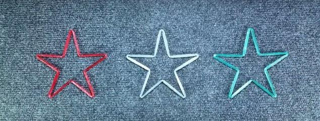 étoile de noël
