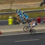 Faire une roue arrière en vélo – tour de France